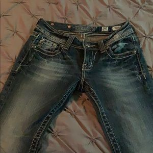 Miss Me Jeans stone washed boot cut!